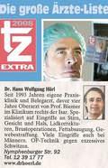 Dr. Hörl ist laut tz TOP Arzt in München